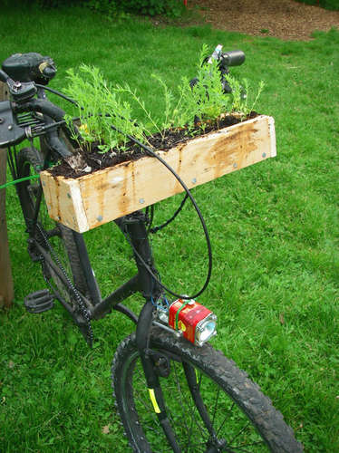 Bicycle for the Transient Gardener, crafted by FriendOfHumanity