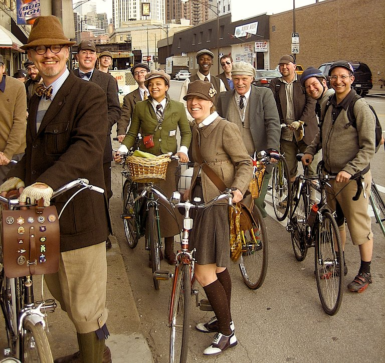 Winston's Tweed Ride, photo by Da' Square Wheelman