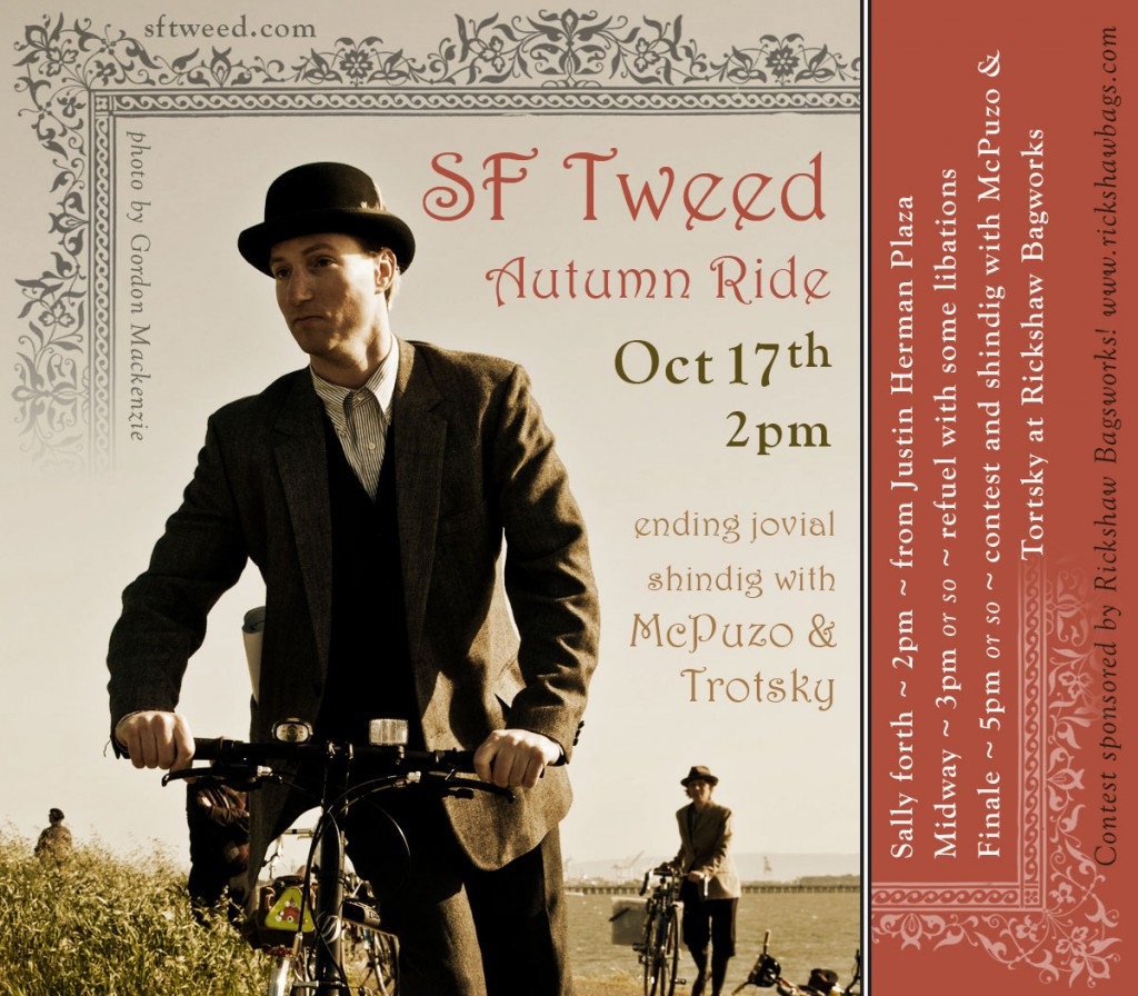SF Tweed Autumn Ride Oct 17th 2010