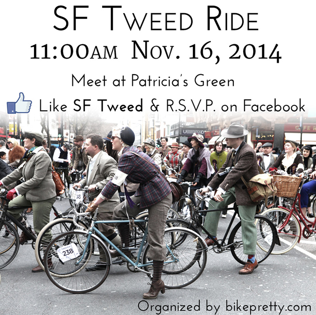 San Francisco Tweed Ride